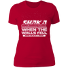 Shaka When the Walls Fell - T-Shirt-T-Shirt-CustomCat-Women's T-Shirt-Red-X-Small
