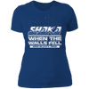 Shaka When the Walls Fell - T-Shirt-T-Shirt-CustomCat-Women's T-Shirt-Royal Blue-X-Small