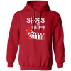 Shoes to Die For - Hoodie-Hoodie-CustomCat-Red-S-