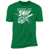 Shop Smart Shop S-Mart - T-Shirt-T-Shirt-CustomCat-Men's T-Shirt-Kelly Green-S