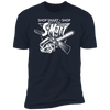 Shop Smart Shop S-Mart - T-Shirt-T-Shirt-CustomCat-Men's T-Shirt-Midnight Navy-S