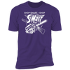 Shop Smart Shop S-Mart - T-Shirt-T-Shirt-CustomCat-Men's T-Shirt-Purple-S