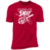 Shop Smart Shop S-Mart - T-Shirt-T-Shirt-CustomCat-Men's T-Shirt-Red-S