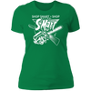 Shop Smart Shop S-Mart - T-Shirt-T-Shirt-CustomCat-Women's T-Shirt-Kelly Green-X-Small