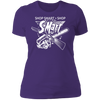 Shop Smart Shop S-Mart - T-Shirt-T-Shirt-CustomCat-Women's T-Shirt-Purple-X-Small