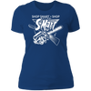 Shop Smart Shop S-Mart - T-Shirt-T-Shirt-CustomCat-Women's T-Shirt-Royal Blue-X-Small