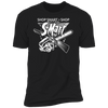 Shop Smart Shop S-Mart - T-Shirt-T-Shirt-CustomCat-Men's T-Shirt-Black-S
