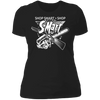 Shop Smart Shop S-Mart - T-Shirt-T-Shirt-CustomCat-Women's T-Shirt-Black-X-Small
