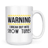 Show Tunes - 11oz/15oz White Mug-Coffee Mug-CustomCat-15oz Mug-White-