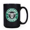 Stargate Coffee - 11oz/15oz Black Mug-Coffee Mug-CustomCat-15oz Mug-Black-