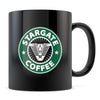 Stargate Coffee - 11oz/15oz Black Mug-Coffee Mug-CustomCat-11oz Mug-Black-
