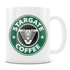 Stargate Coffee - 11oz/15oz White Mug-Coffee Mug-CustomCat-11oz Mug-White-