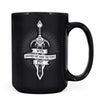 Sword of a Thousand Truths - 11oz/15oz Black Mug-Coffee Mug-CustomCat-15oz Mug-Black-