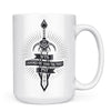 Sword of a Thousand Truths - 11oz/15oz White Mug-Coffee Mug-CustomCat-15oz Mug-White-