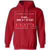 Take One of These - Hoodie-Hoodie-CustomCat-Red-S-