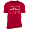 Take One of These - T-Shirt-T-Shirt-CustomCat-Men's T-Shirt-Red-S