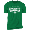 Tanking Husband Aggro Healz Plz - T-Shirt-T-Shirt-CustomCat-Men's T-Shirt-Kelly Green-S