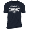 Tanking Husband Aggro Healz Plz - T-Shirt-T-Shirt-CustomCat-Men's T-Shirt-Midnight Navy-S