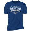 Tanking Husband Aggro Healz Plz - T-Shirt-T-Shirt-CustomCat-Men's T-Shirt-Royal Blue-S