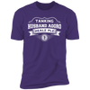 Tanking Husband Aggro Healz Plz - T-Shirt-T-Shirt-CustomCat-Men's T-Shirt-Purple-S