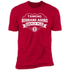 Tanking Husband Aggro Healz Plz - T-Shirt-T-Shirt-CustomCat-Men's T-Shirt-Red-S