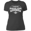 Tanking Husband Aggro Healz Plz - T-Shirt-T-Shirt-CustomCat-Women's T-Shirt-Heavy Metal-X-Small