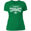 Tanking Husband Aggro Healz Plz - T-Shirt-T-Shirt-CustomCat-Women's T-Shirt-Kelly Green-X-Small