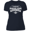 Tanking Husband Aggro Healz Plz - T-Shirt-T-Shirt-CustomCat-Women's T-Shirt-Midnight Navy-X-Small