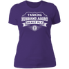 Tanking Husband Aggro Healz Plz - T-Shirt-T-Shirt-CustomCat-Women's T-Shirt-Purple-X-Small
