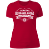 Tanking Husband Aggro Healz Plz - T-Shirt-T-Shirt-CustomCat-Women's T-Shirt-Red-X-Small