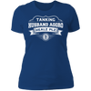 Tanking Husband Aggro Healz Plz - T-Shirt-T-Shirt-CustomCat-Women's T-Shirt-Royal Blue-X-Small