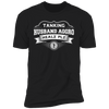 Tanking Husband Aggro Healz Plz - T-Shirt-T-Shirt-CustomCat-Men's T-Shirt-Black-S