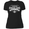 Tanking Husband Aggro Healz Plz - T-Shirt-T-Shirt-CustomCat-Women's T-Shirt-Black-X-Small