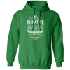 Theatre Fantasy World - Hoodie-Hoodie-CustomCat-Irish Green-S-