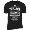 Theatre Fantasy World - T-Shirt-T-Shirt-CustomCat-Men's T-Shirt-Black-S