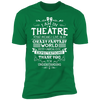 Theatre Fantasy World - T-Shirt-T-Shirt-CustomCat-Men's T-Shirt-Kelly Green-S