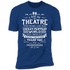 Theatre Fantasy World - T-Shirt-T-Shirt-CustomCat-Men's T-Shirt-Royal Blue-S