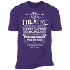 Theatre Fantasy World - T-Shirt-T-Shirt-CustomCat-Men's T-Shirt-Purple-S
