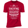 Theatre Fantasy World - T-Shirt-T-Shirt-CustomCat-Men's T-Shirt-Red-S