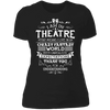 Theatre Fantasy World - T-Shirt-T-Shirt-CustomCat-Women's T-Shirt-Black-X-Small