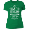 Theatre Fantasy World - T-Shirt-T-Shirt-CustomCat-Women's T-Shirt-Kelly Green-X-Small
