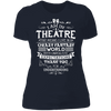 Theatre Fantasy World - T-Shirt-T-Shirt-CustomCat-Women's T-Shirt-Midnight Navy-X-Small