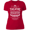 Theatre Fantasy World - T-Shirt-T-Shirt-CustomCat-Women's T-Shirt-Red-X-Small
