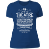 Theatre Fantasy World - T-Shirt-T-Shirt-CustomCat-Women's T-Shirt-Royal Blue-X-Small