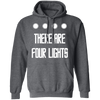 There Are Four Lights - Hoodie-Hoodie-CustomCat-Dark Heather-S-