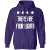 There Are Four Lights - Hoodie-Hoodie-CustomCat-Purple-S-