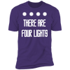 There Are Four Lights - T-Shirt-T-Shirt-CustomCat-Men's T-Shirt-Purple-S