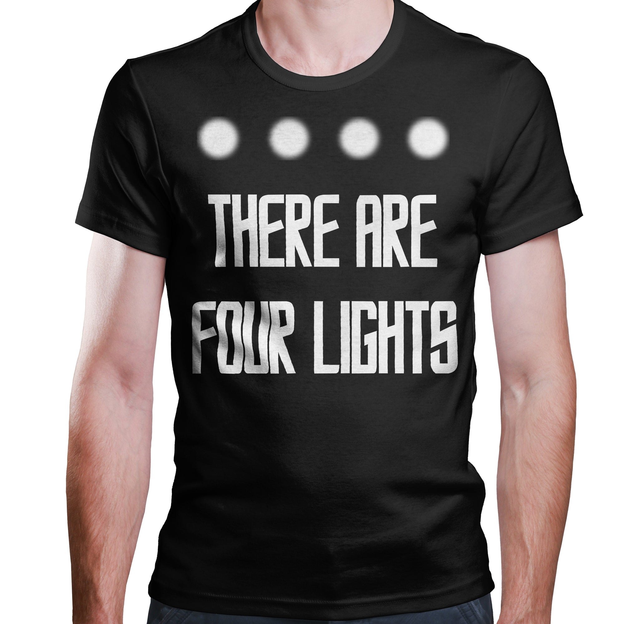 There Are Four Lights - T-Shirt-T-Shirt-CustomCat-