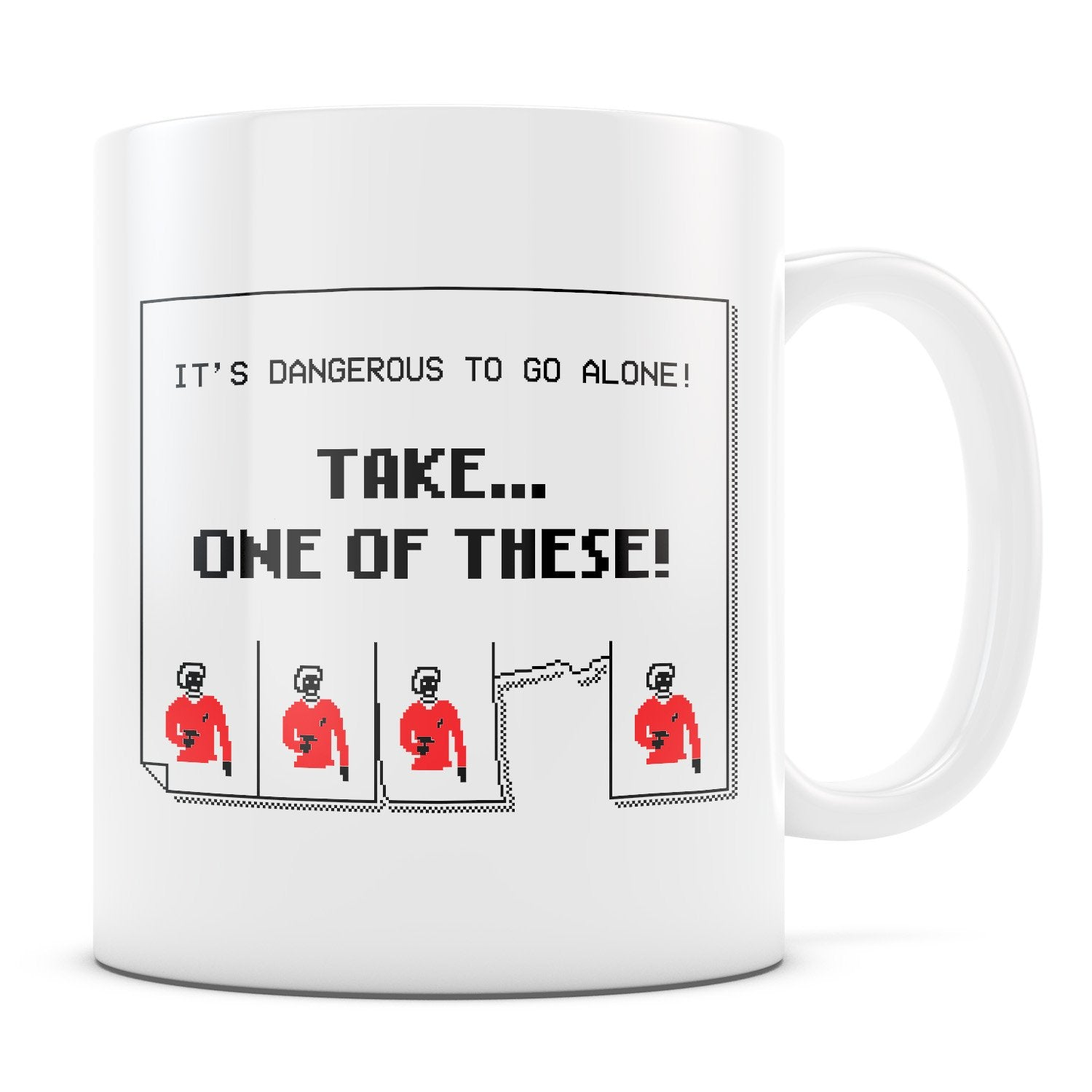 Too Dangerous - 11oz/15oz White Mug-Coffee Mug-CustomCat-11oz Mug-White-