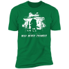 War Never Changes - T-Shirt-T-Shirt-CustomCat-Men's T-Shirt-Kelly Green-S